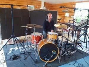 Pierre au studio